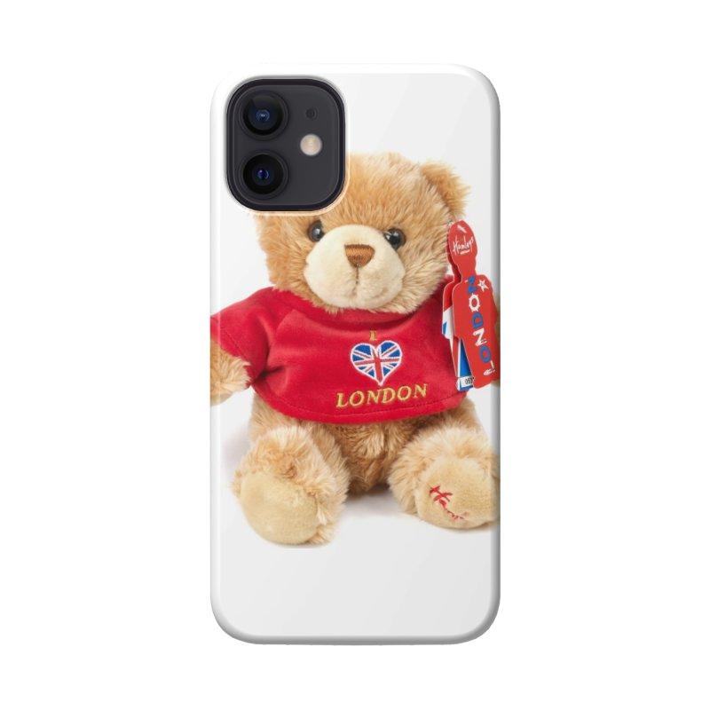 London Teddy Accessories Phone Case by mytarotshop's Artist Shop