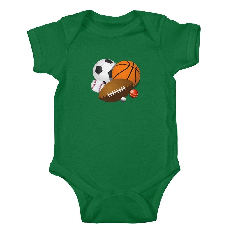 For the Guys Kids Baby Bodysuit by mytarotshop's Artist Shop