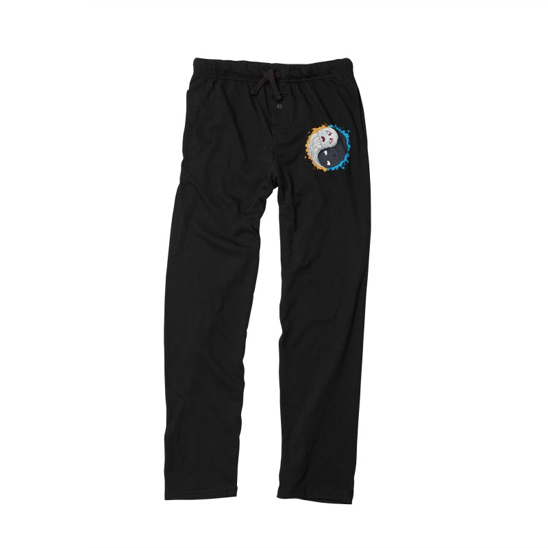 Yin Yang Ghast Squid Men's Lounge Pants by Mythic Ink's Shop