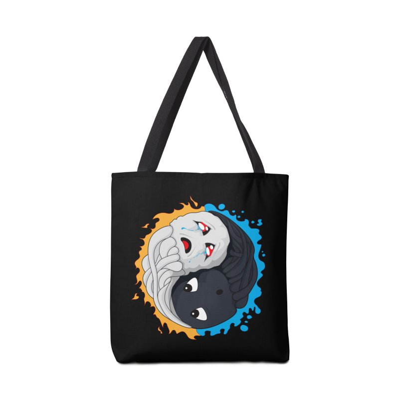 Yin Yang Ghast Squid Accessories Bag by Mythic Ink's Shop