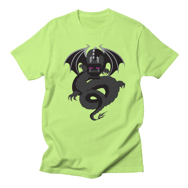 Chinese Ender Dragon Men's Regular T-Shirt by Mythic Ink's Shop