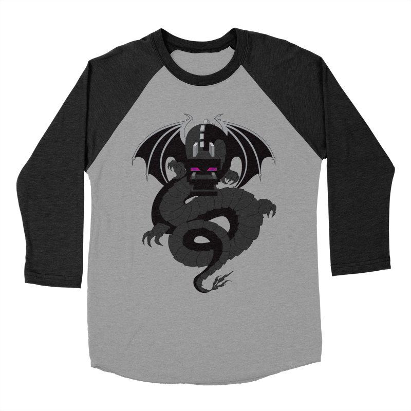 Chinese Ender Dragon Men's Longsleeve T-Shirt by Mythic Ink's Shop