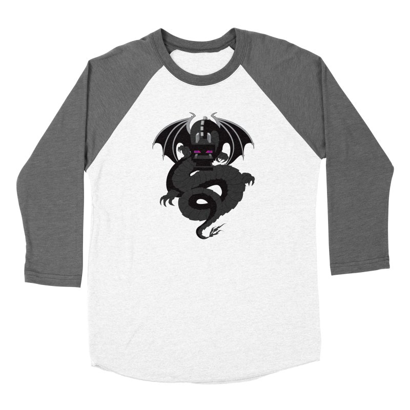 Chinese Ender Dragon Men's Baseball Triblend Longsleeve T-Shirt by Mythic Ink's Shop