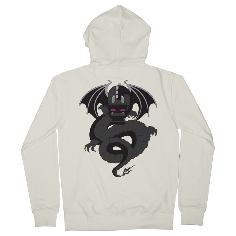 Chinese Ender Dragon Men's Zip-Up Hoody by Mythic Ink's Shop
