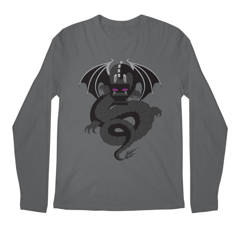 Chinese Ender Dragon Men's Regular Longsleeve T-Shirt by Mythic Ink's Shop