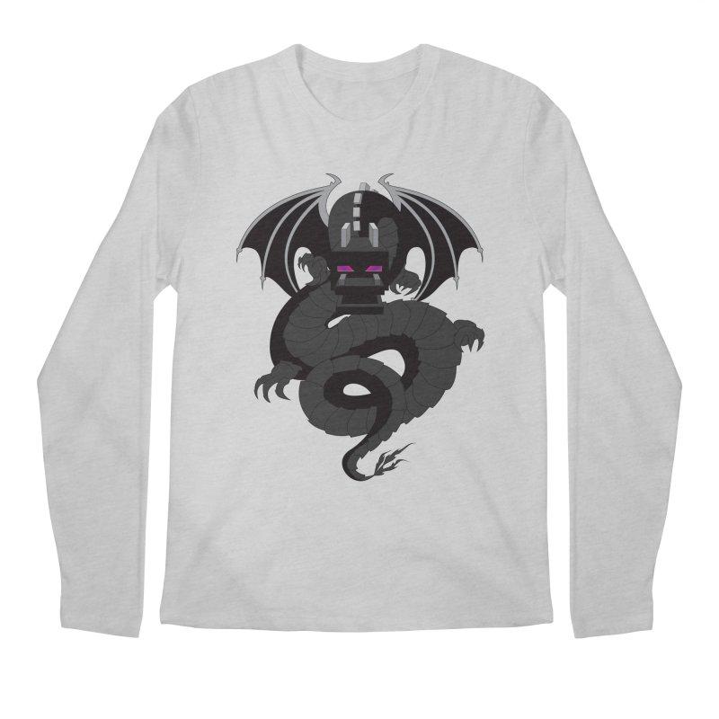 Chinese Ender Dragon Men's Regular Longsleeve T-Shirt by Mythic Ink's Shop
