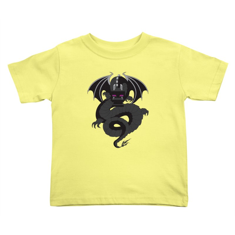 Chinese Ender Dragon Kids Toddler T-Shirt by Mythic Ink's Shop