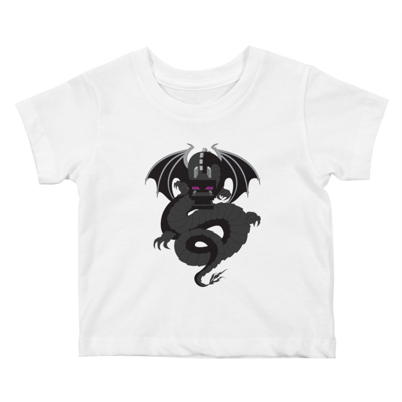 Chinese Ender Dragon Kids Baby T-Shirt by Mythic Ink's Shop
