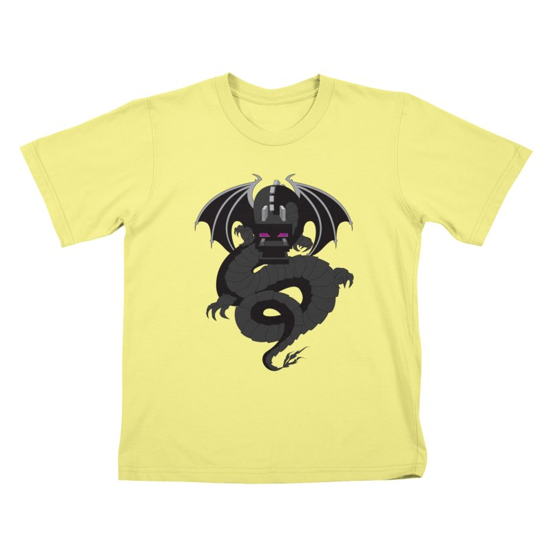 Chinese Ender Dragon Kids T-shirt by Mythic Ink's Shop
