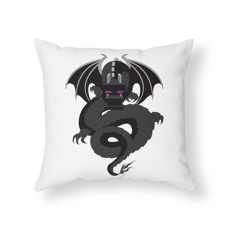 Chinese Ender Dragon Home Throw Pillow by Mythic Ink's Shop