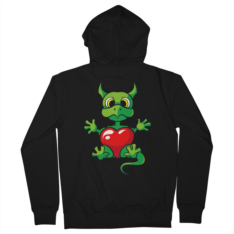 Be Mine Men's Zip-Up Hoody by Mythic Ink's Shop
