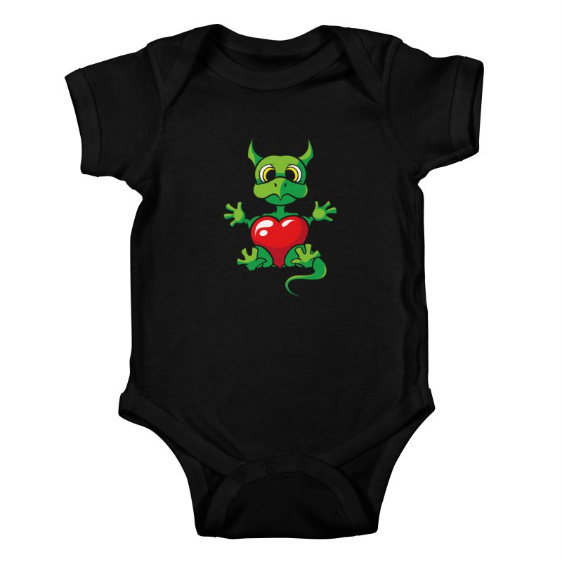 Be Mine Kids Baby Bodysuit by Mythic Ink's Shop