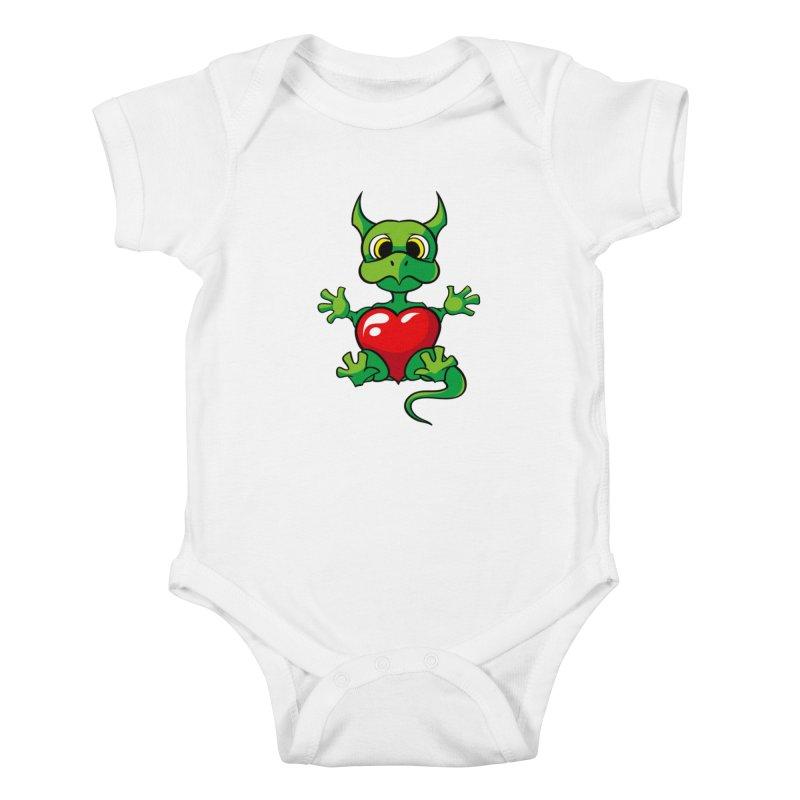 Be Mine Kids Baby Bodysuit by Mythic Ink's Shop