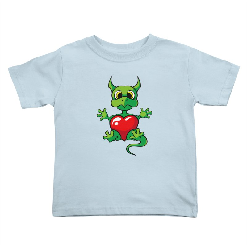 Be Mine Kids Toddler T-Shirt by Mythic Ink's Shop