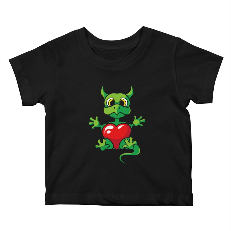 Be Mine Kids Baby T-Shirt by Mythic Ink's Shop