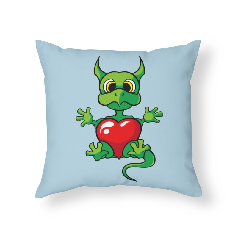 Be Mine Home Throw Pillow by Mythic Ink's Shop