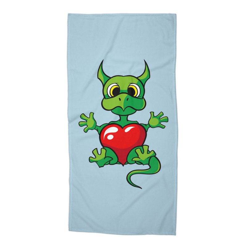 Be Mine Accessories Beach Towel by Mythic Ink's Shop