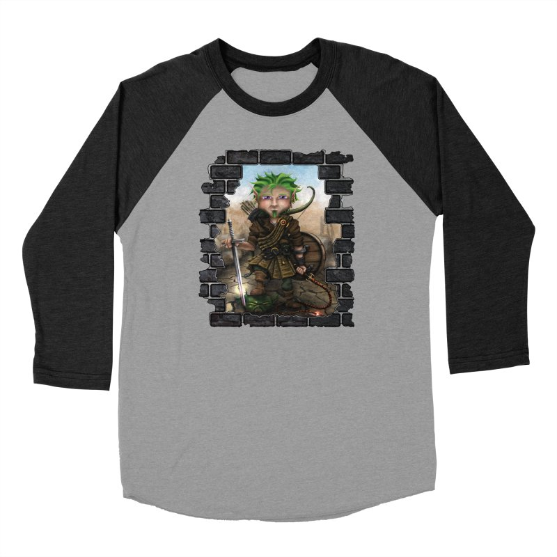Folkor the Gnome Bard Women's Longsleeve T-Shirt by Mythic Ink's Shop