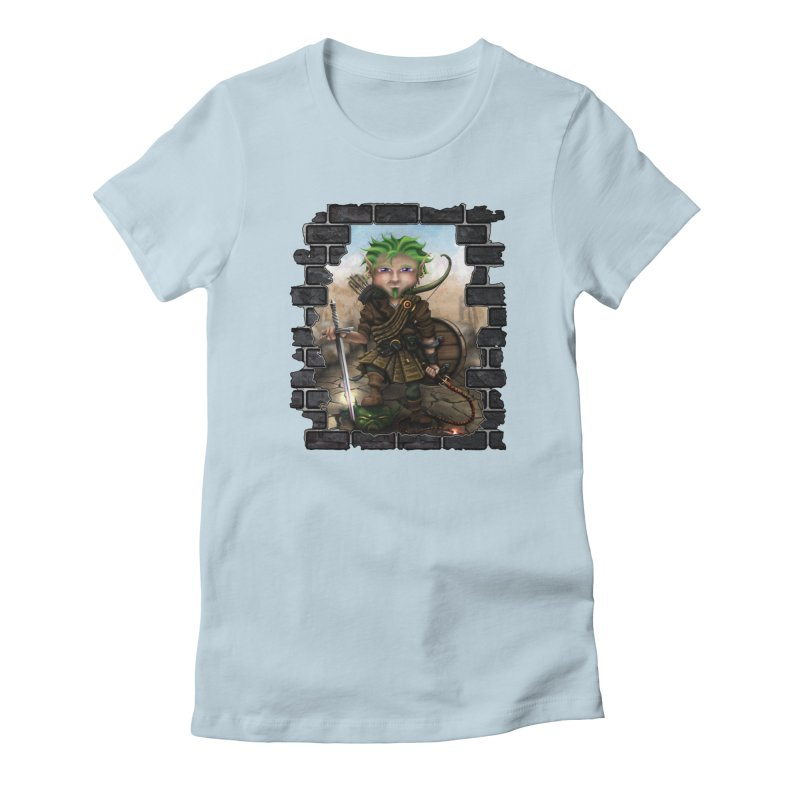 Folkor the Gnome Bard Women's T-Shirt by Mythic Ink's Shop