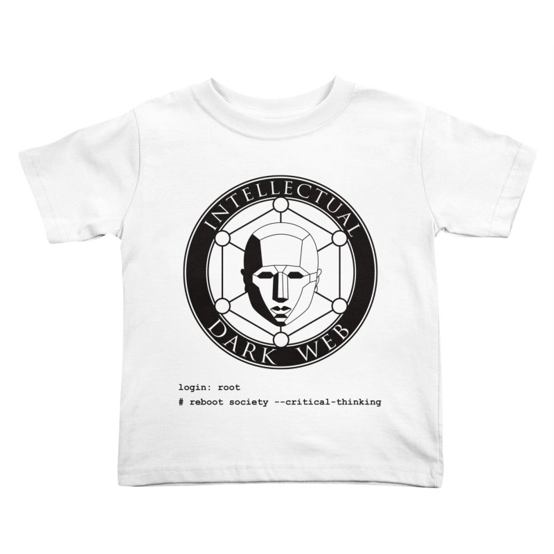 Intellectual Dark Web - Unix Reboot (white background) Kids Toddler T-Shirt by Mythic Ink's Shop