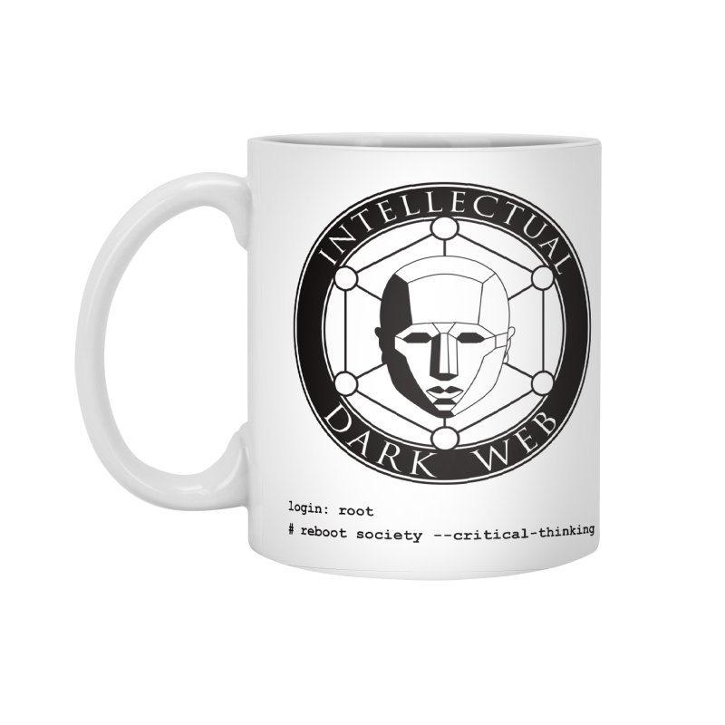Intellectual Dark Web - Unix Reboot (white background) Accessories Standard Mug by Mythic Ink's Shop