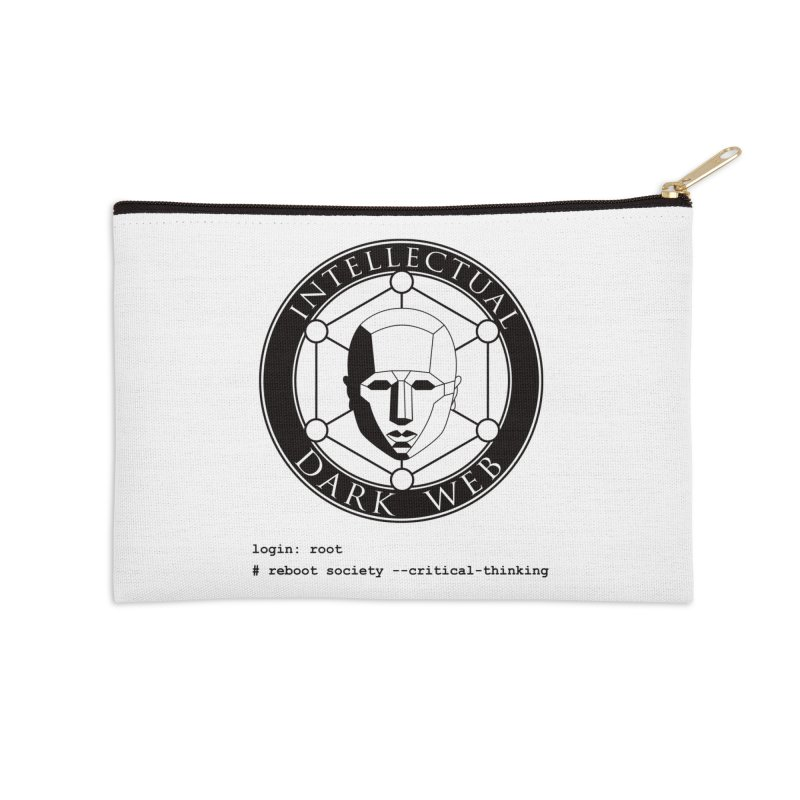 Intellectual Dark Web - Unix Reboot (white background) Accessories Zip Pouch by Mythic Ink's Shop