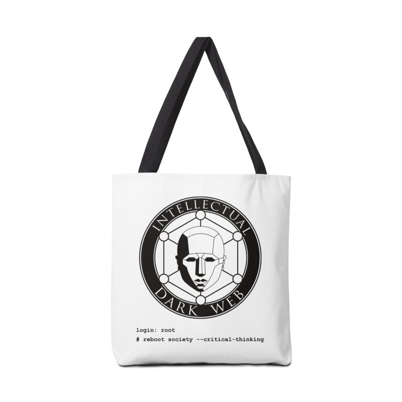 Intellectual Dark Web - Unix Reboot (white background) Accessories Bag by Mythic Ink's Shop