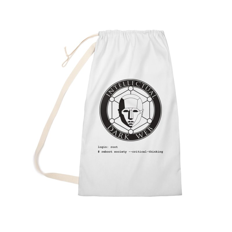 Intellectual Dark Web - Unix Reboot (white background) Accessories Laundry Bag Bag by Mythic Ink's Shop