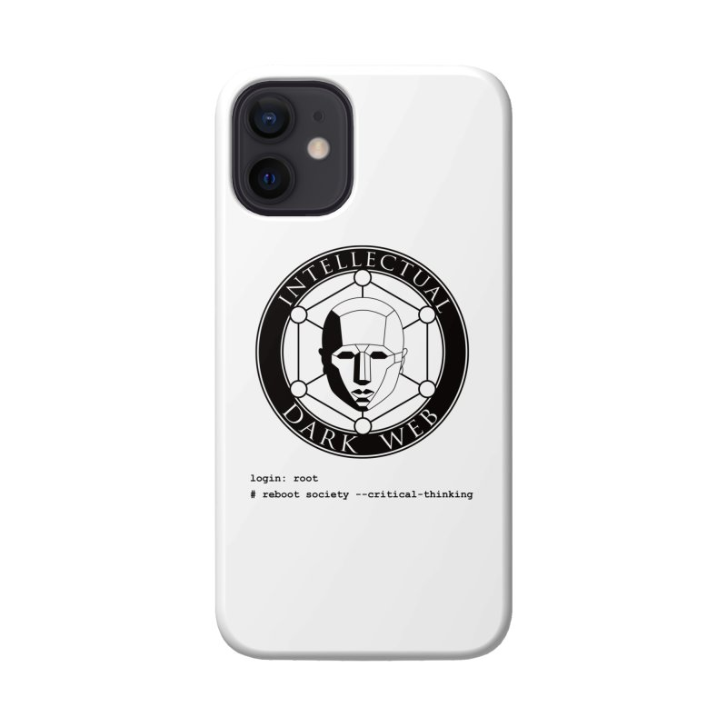 Intellectual Dark Web - Unix Reboot (white background) Accessories Phone Case by Mythic Ink's Shop