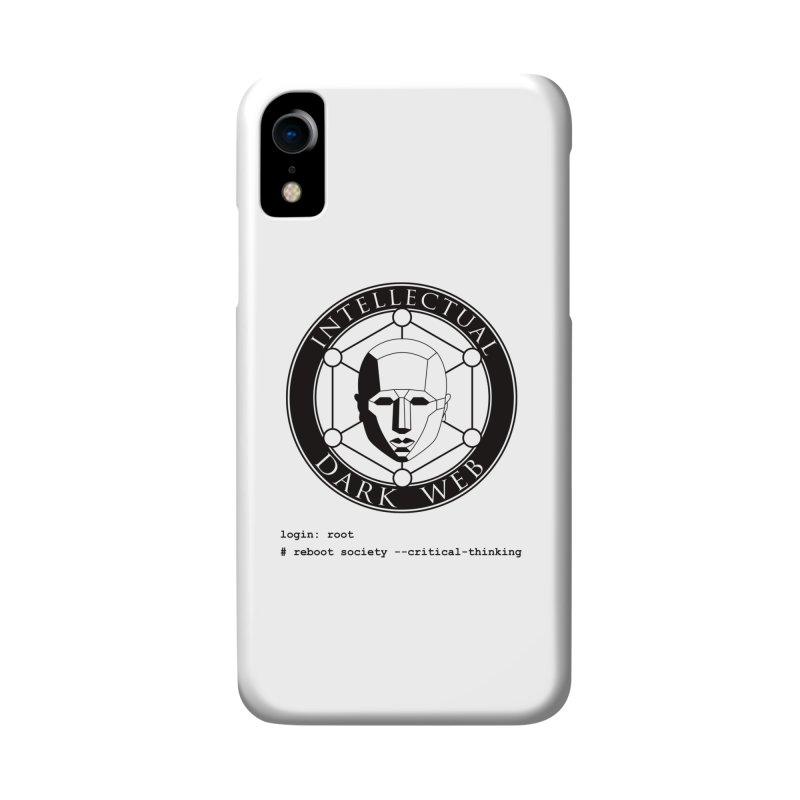 Intellectual Dark Web - Unix Reboot (white background) Accessories Phone Case by Mythic Ink's Shop