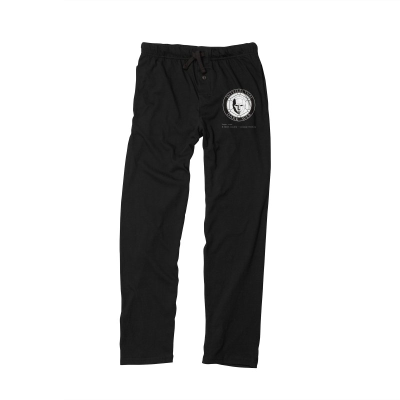 Intellectual Dark Web - Unix Reboot (black background) Men's Lounge Pants by Mythic Ink's Shop
