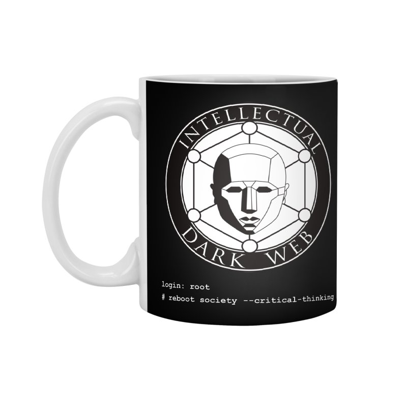 Intellectual Dark Web - Unix Reboot (black background) Accessories Standard Mug by Mythic Ink's Shop
