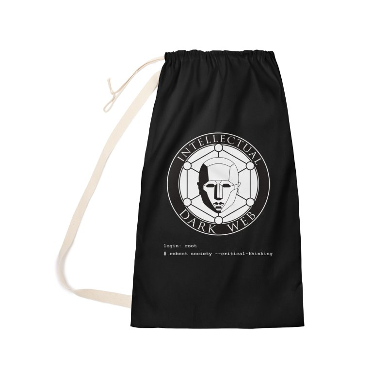 Intellectual Dark Web - Unix Reboot (black background) Accessories Laundry Bag Bag by Mythic Ink's Shop