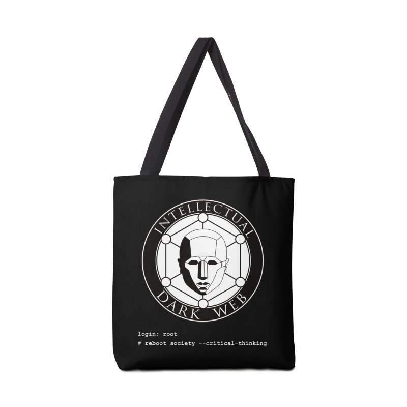 Intellectual Dark Web - Unix Reboot (black background) Accessories Bag by Mythic Ink's Shop