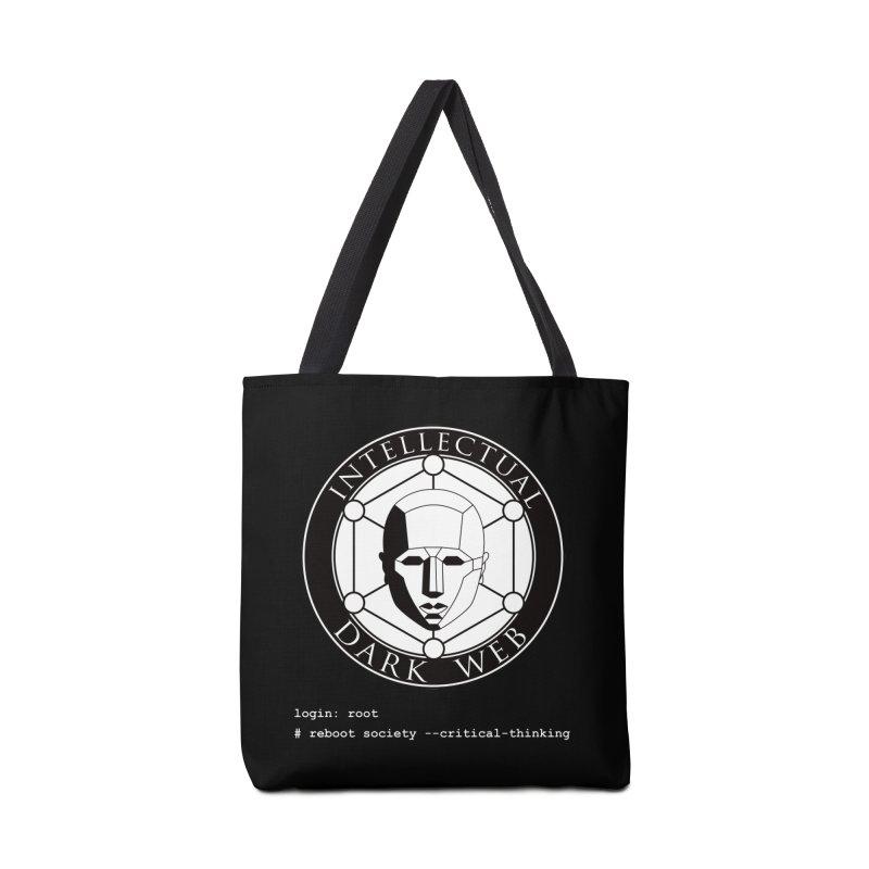 Intellectual Dark Web - Unix Reboot (black background) Accessories Bag by Mythic Ink's Shop