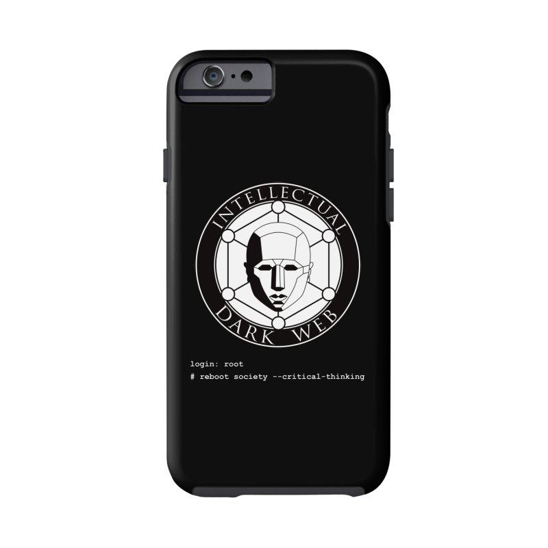 Intellectual Dark Web - Unix Reboot (black background) Accessories Phone Case by Mythic Ink's Shop