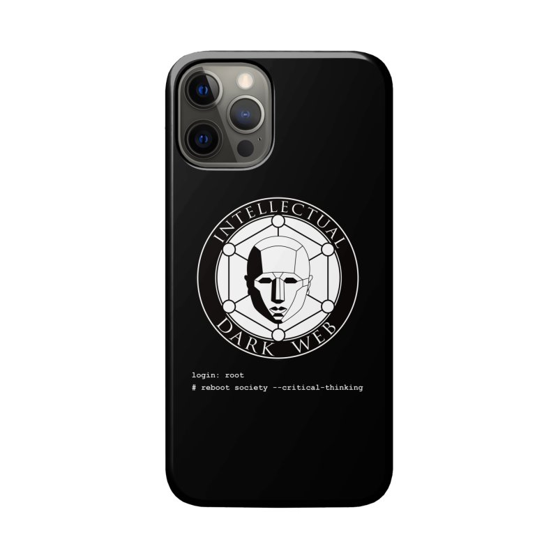 Intellectual Dark Web - Unix Reboot (black background) Accessories Phone Case by Mythic Ink's Shop