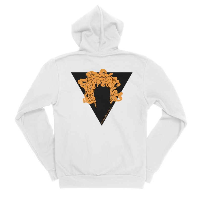 Medusa Women's Zip-Up Hoody by Let's Talk About Myths, Baby! Merch Shop