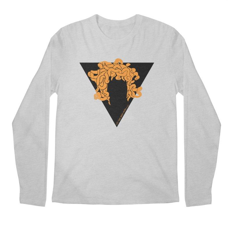 Medusa Men's Longsleeve T-Shirt by Let's Talk About Myths, Baby! Merch Shop