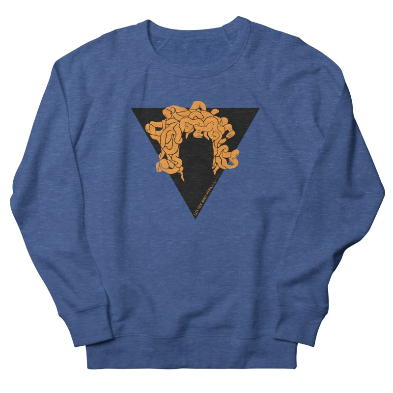Medusa Men's Sweatshirt by Let's Talk About Myths, Baby! Merch Shop