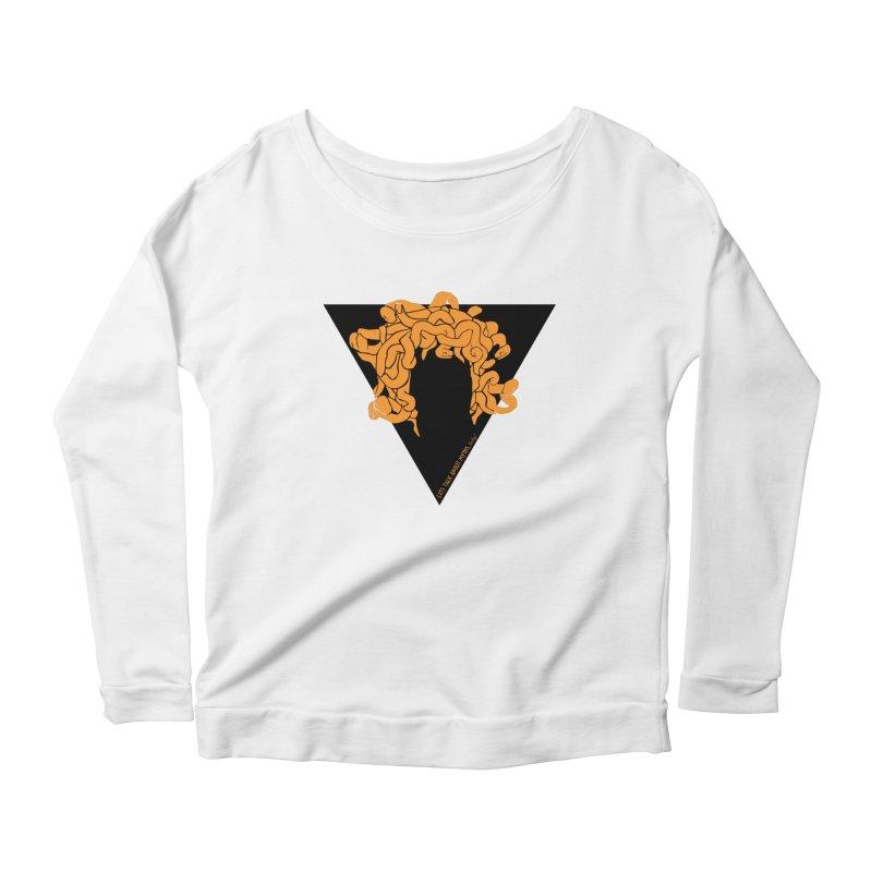 Medusa Women's Longsleeve T-Shirt by Let's Talk About Myths, Baby! Merch Shop