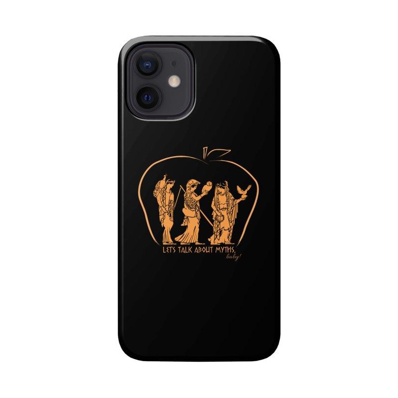 Judgement of Paris (on black) Accessories Phone Case by Let's Talk About Myths, Baby! Merch Shop