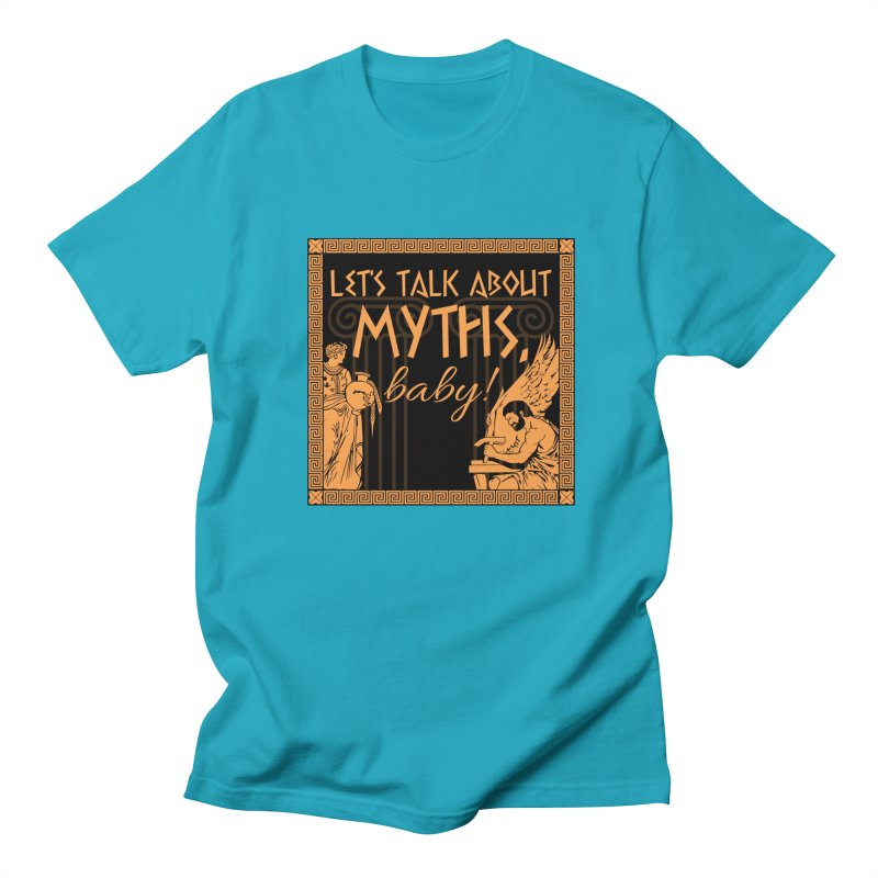 Let's Talk About Myths, Baby! Men's T-Shirt by Myths Baby's Artist Shop