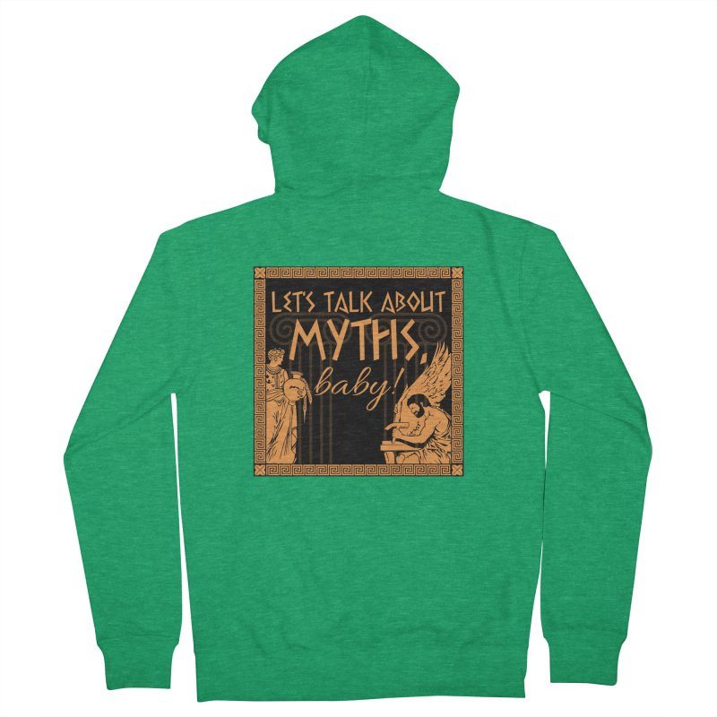 Let's Talk About Myths, Baby! Men's Zip-Up Hoody by Myths Baby's Artist Shop