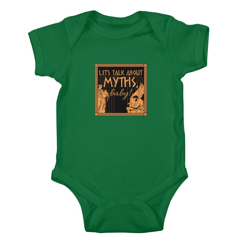 Let's Talk About Myths, Baby! Kids Baby Bodysuit by Myths Baby's Artist Shop