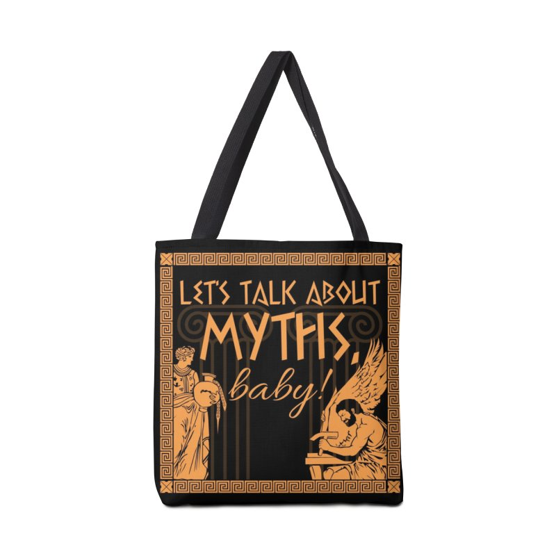 Let's Talk About Myths, Baby! Accessories Tote Bag Bag by Myths Baby's Artist Shop