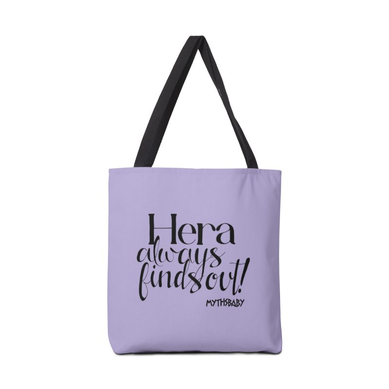 Hera Always Finds Out Accessories Tote Bag Bag by Myths Baby's Artist Shop