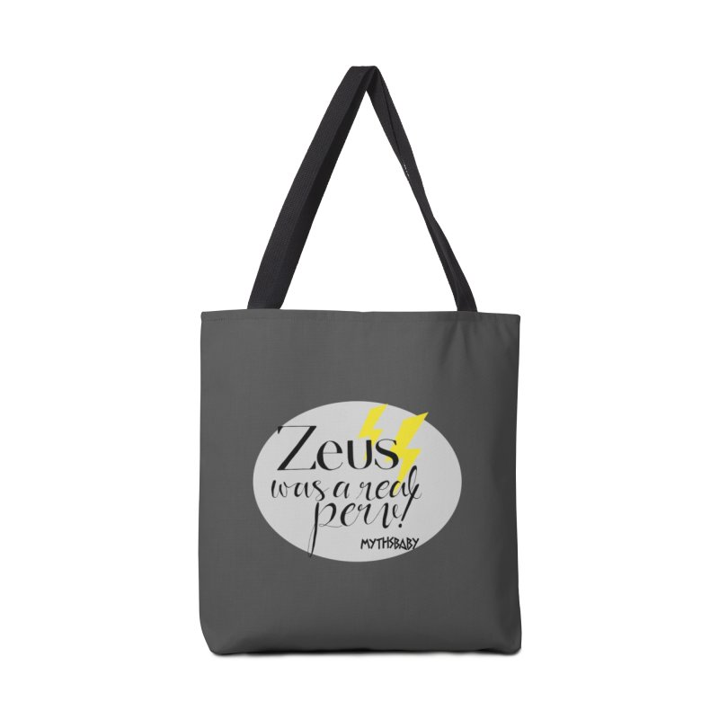 Zeus Was a Real Perv **LAST CHANCE** Accessories Bag by Let's Talk About Myths, Baby! Merch Shop