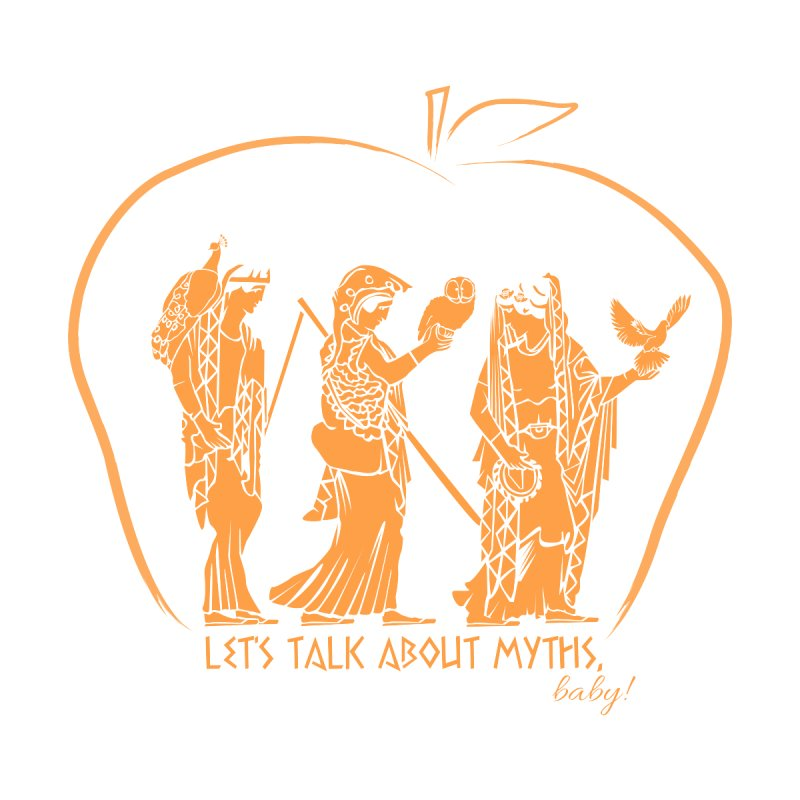Judgement of Paris Women's Zip-Up Hoody by Let's Talk About Myths, Baby! Merch Shop