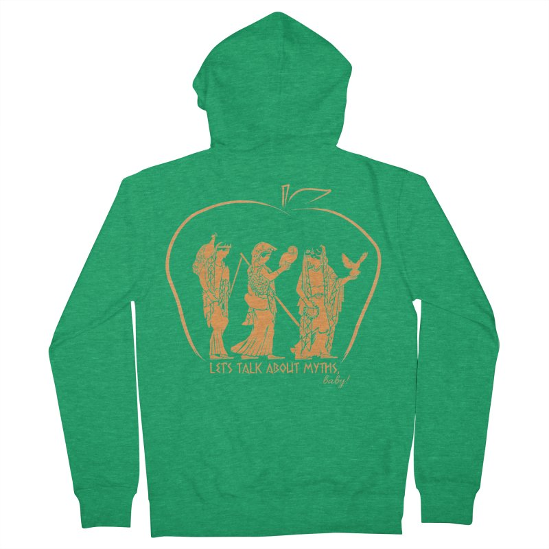 Judgement of Paris Men's Zip-Up Hoody by Let's Talk About Myths, Baby! Merch Shop